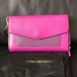 Vera Bradley • Saffiano Leather Crossbody Bag!